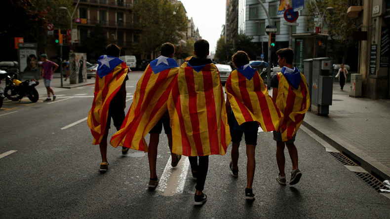 Katalonien-Krise eskaliert weiter: Spanien erlässt Haftbefehl gegen katalanische Aktivisten