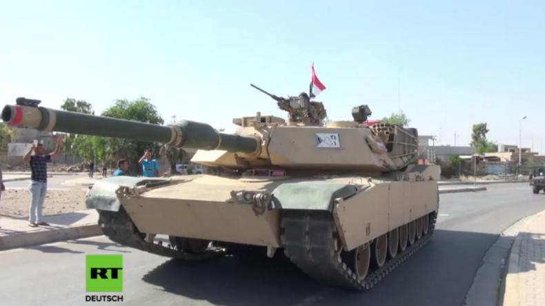 Irakische Truppen rollen in kurdisch gehaltene Stadt Kirkuk ein