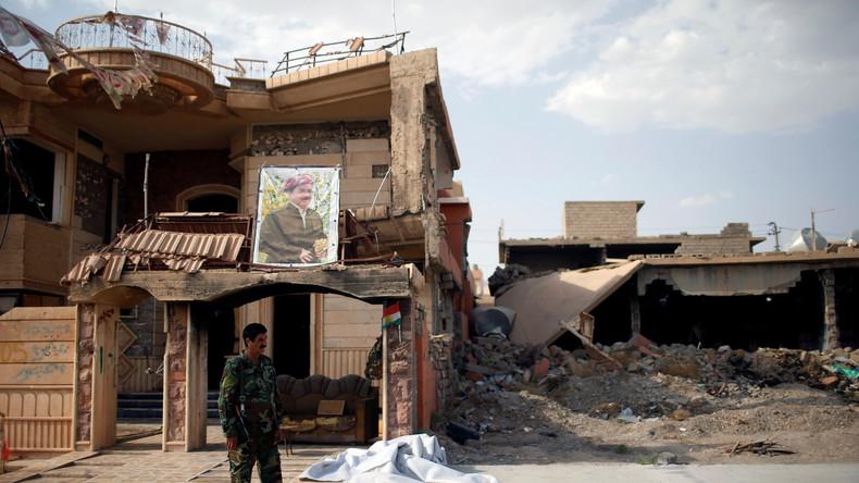 Peschmerga-Kämpfer verlassen nordirakische Stadt Sindschar