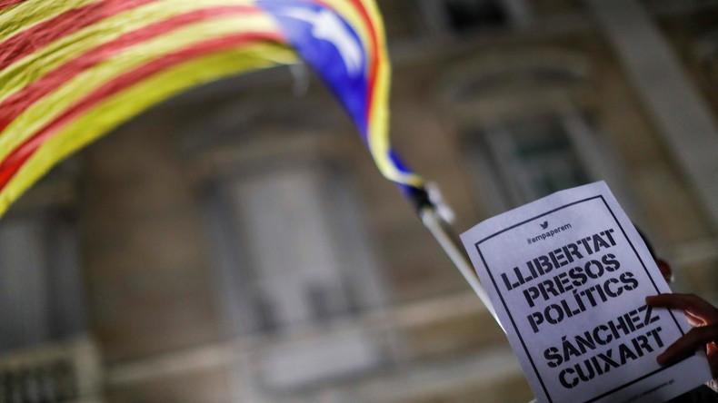 """Erste politische Gefangene"": Madrid lässt katalanische Politiker verhaften [Video]"