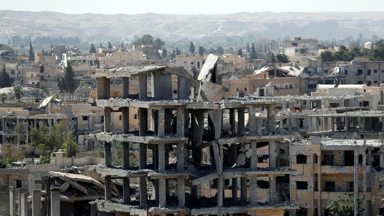 Stadt Rakka offenbar komplett vom IS befreit