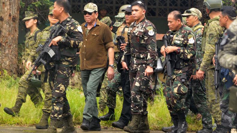 Philippinischer Präsident Duterte: Stadt Marawi von radikal-islamistischen Kämpfern befreit