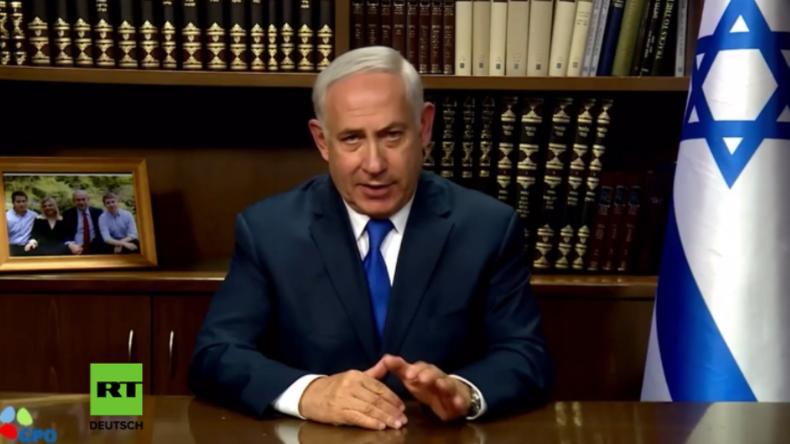 Netanjahu disst in persönlicher Videobotschaft iranischen Außenminister Zarif