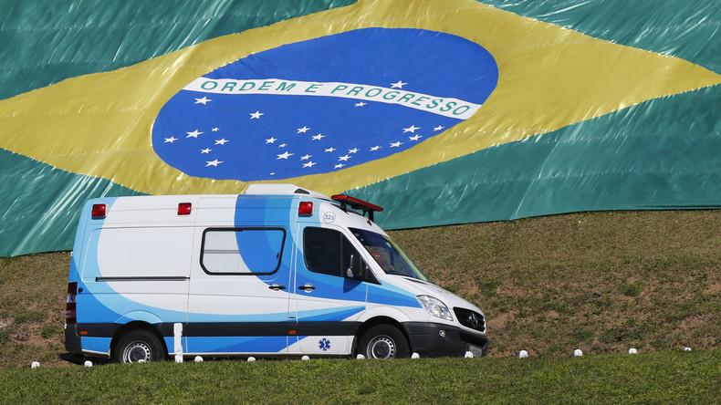 Rio de Janeiro: Bewaffnete entführen Arzt und Rettungswagen aus Sorge um angeschossenen Komplizen