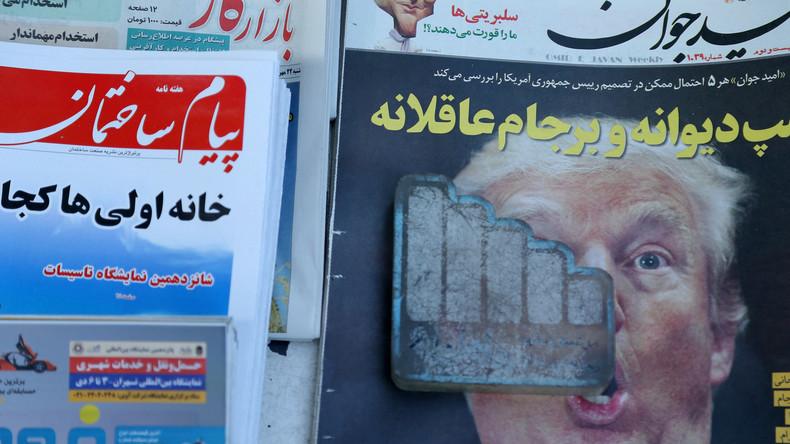 Trump sabotiert Nuklearabkommen mit dem Iran und droht mit Aufkündigung