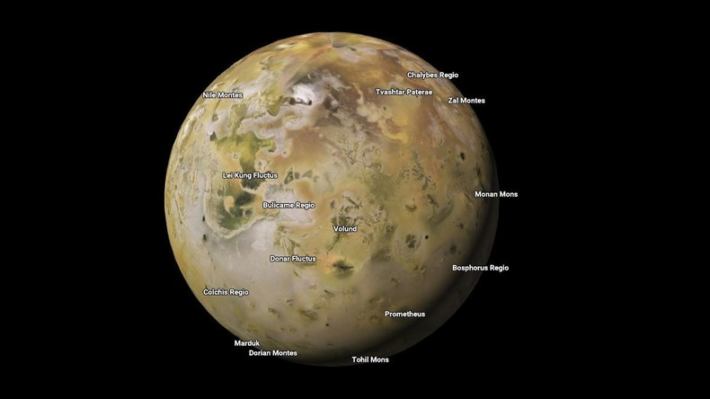 Mars, Venus, Pluto, Io, Titan und andere: Google Maps hat nun Karten von Planeten und Monden