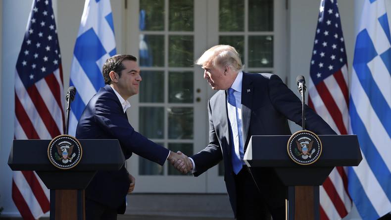 Treffen unter Freunden? Tsipras trifft auf Trump in Washington