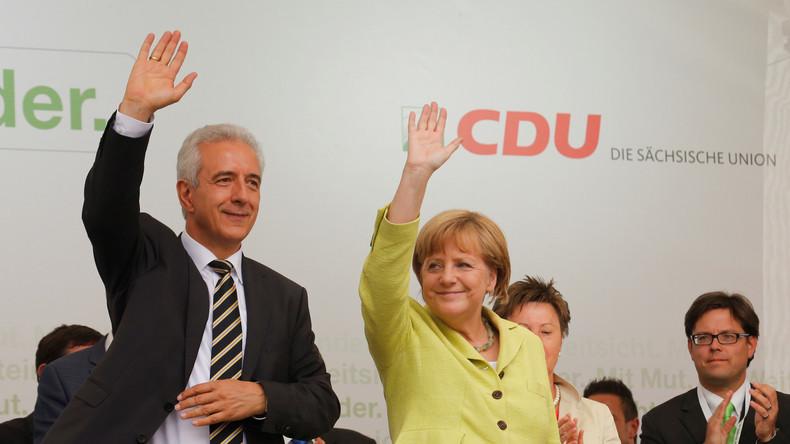 Nach Wahlschlappe bei Bundestagswahl: Sachsens Regierungschef Tillich tritt zurück