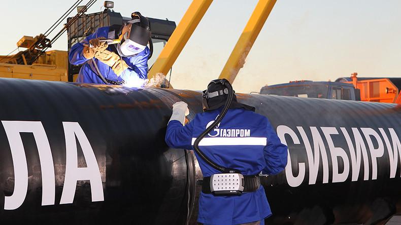 Gazprom verkündet: Großer Teil der russischen Gaspipeline nach China fertiggestellt