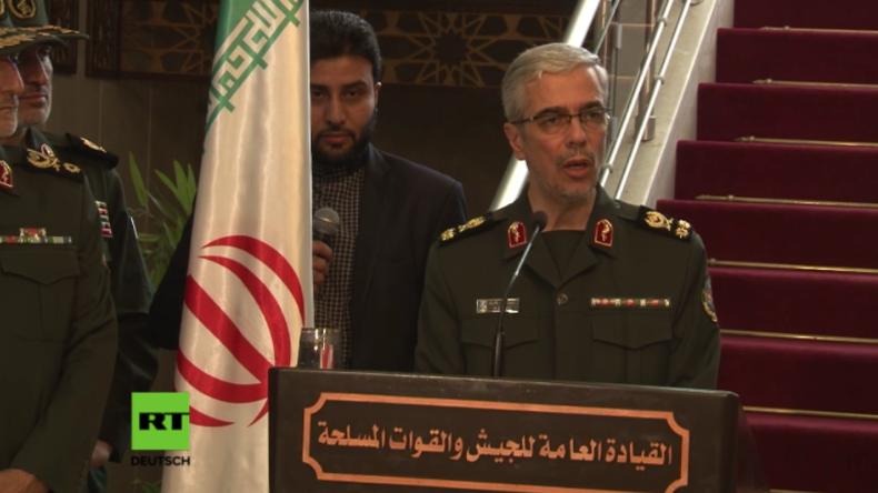 Iranischer Militärstabchef: Israel verletzt syrischen Luftraum, wann es will