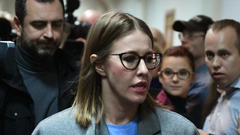 """""""Russische Paris Hilton"""" will Präsidentin werden - Westen sieht hierin Kreml-Inszenierung"""