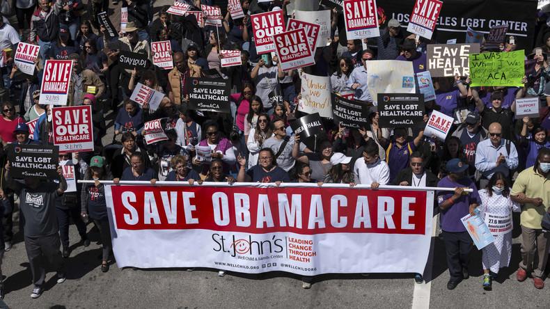 USA: 19 US-Bundestaaten gehen gerichtlich gegen Trumps Entscheidung zu Obamacare vor