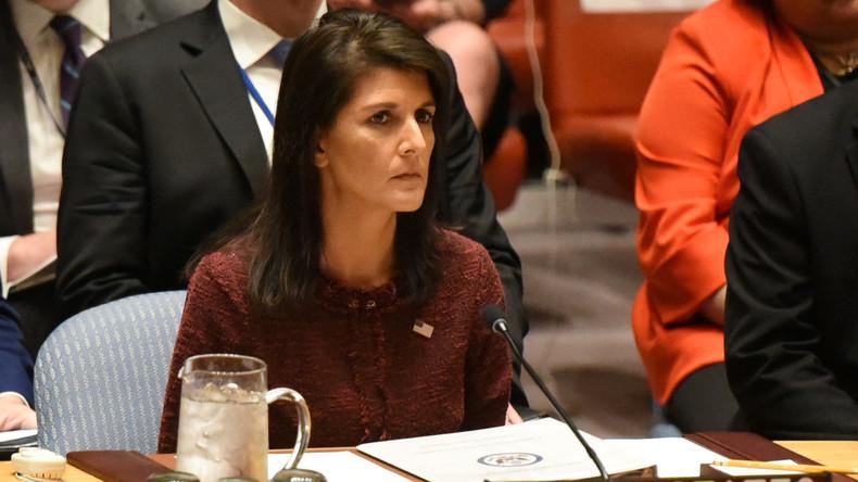 UN-Botschafterin der USA droht: Wir werden Handlungen Teherans nicht mehr dulden