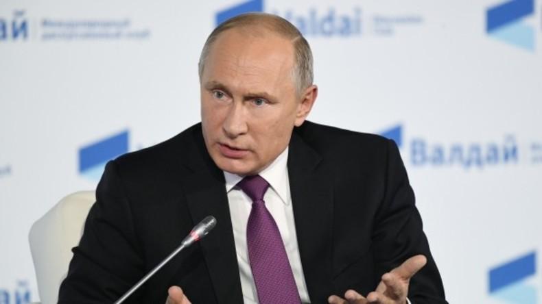 Rede vor Waldai-Club: Putin rügt USA und EU wegen Separatismus und Massenvernichtungswaffen