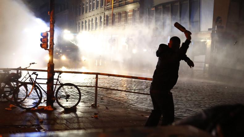 Gericht in Hamburg verurteilt Russen zu einem Jahr Bewährungsstrafe wegen G20-Unruhen