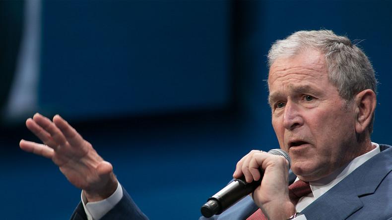 George W. Bush: US-Politik ist anfällig für Lügenmärchen