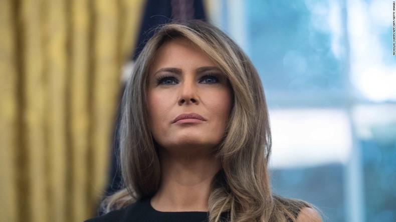 Melania oder Doppelgängerin? Internetnutzer spinnen Verschwörungstheorien um First Lady der USA