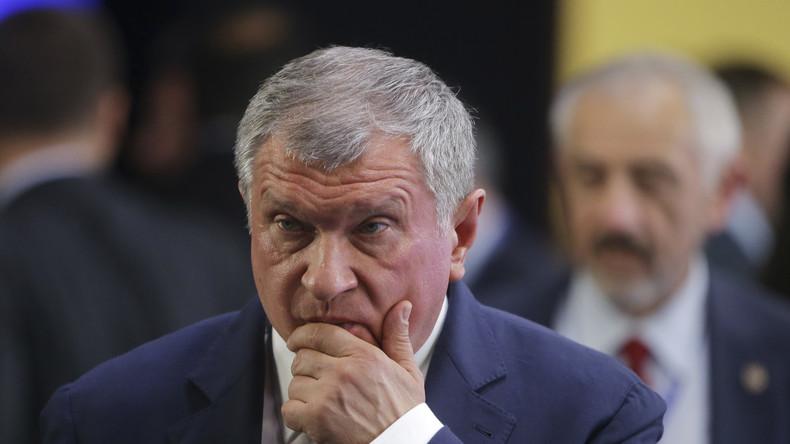 """Rosneft-Chef: """"Erdöl wird mindestens noch 20 Jahre das Fundament der Weltenergie bleiben"""""""