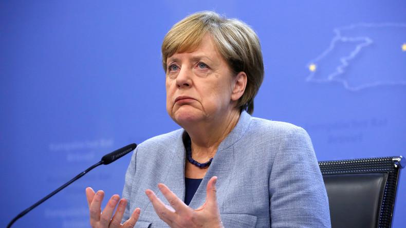 LIVE: Merkel gibt Pressekonferenz am Rande des EU-Gipfels