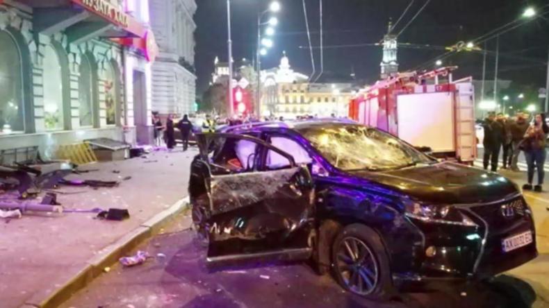 5 Tote nach Raserei von junger Frau in der Ukraine (Video)