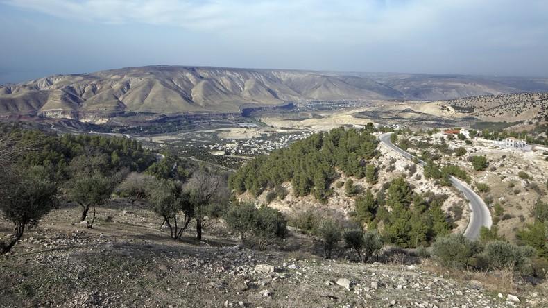 Israels Armee beschießt syrische Militärstellung