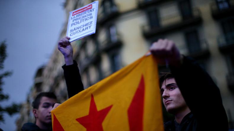 Live: Proteste in Barcelona gegen Absetzung der katalanischen Regierung