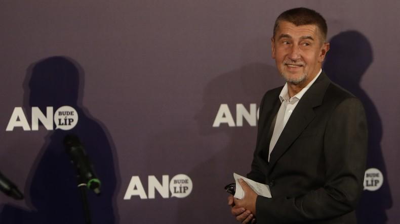Euroskeptiker und Milliardär Andrej Babis gewinnt Parlamentswahl in Tschechien