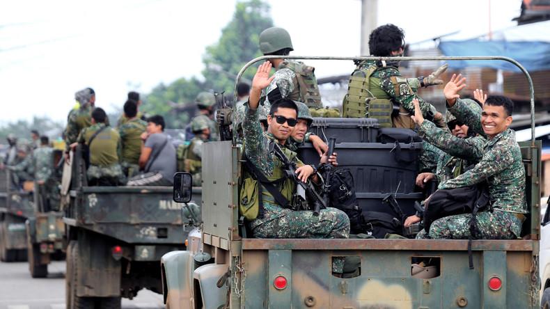 Philippinen trotzen dem Terror: Armee verkündet vollständige Befreiung Marawis vom IS