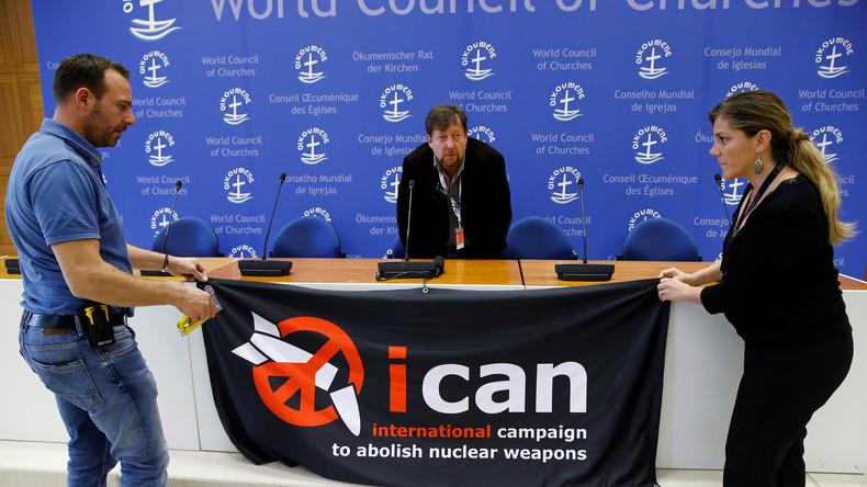 """Friedensnobelpreis für Anti-Nuklearwaffen-Bewegung: """"Atomare Abrüstung ist Präventivmedizin"""""""