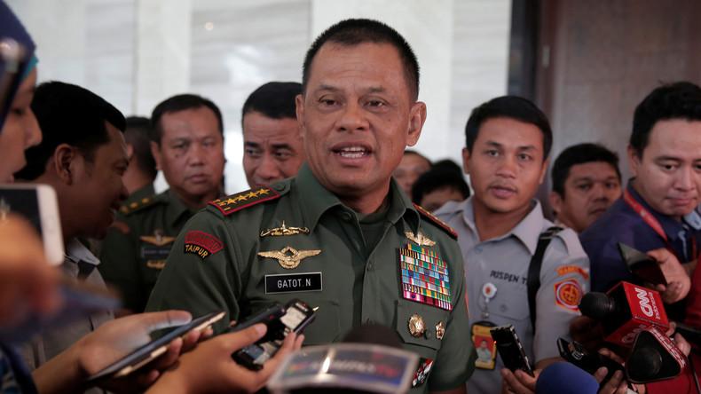 USA verweigern indonesischem Befehlshaber die Einreise
