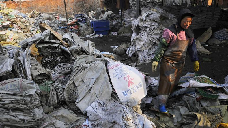 Behaltet euren Müll: China will Importverbot für westlichen Plastikabfall