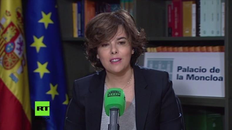 """Stellv. Ministerpräsidentin: """"Puigdemont wird nicht mehr als Präsident der Generalitat tätig sein"""""""