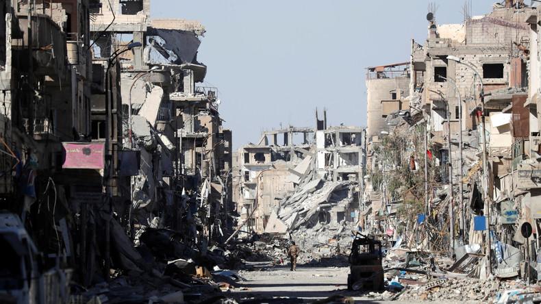 """Russisches Verteidigungsministerium: Rakka erinnert an """"Dresden 1945"""""""