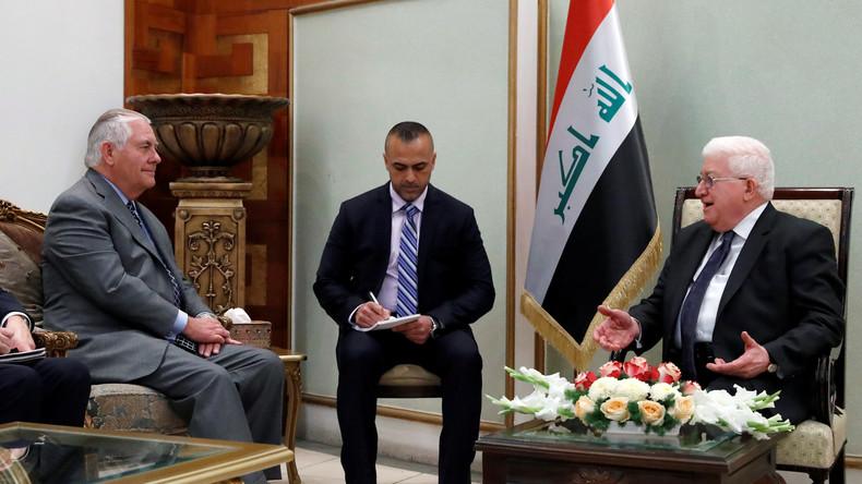 Rex Tillerson überraschend zu Besuch im Irak und in Afghanistan