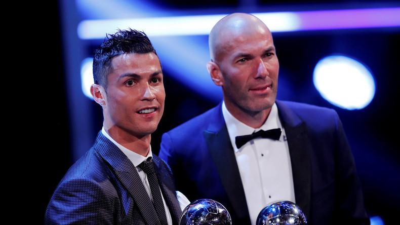 Erfolgreichster Fußballer der Geschichte: Ronaldo zum fünften Mal als bester FIFA-Spieler gekrönt