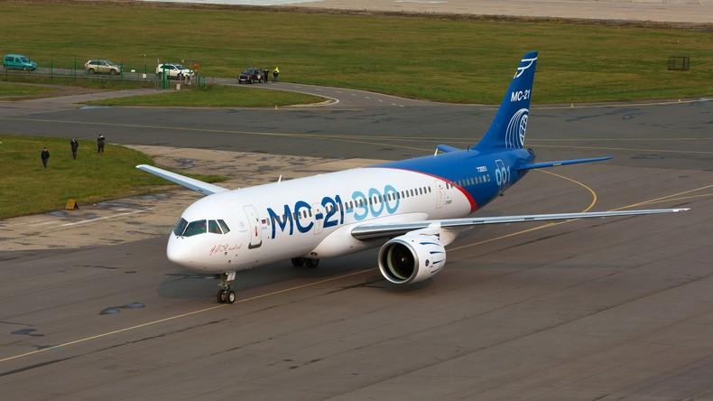 MS-21 betritt den Weltmarkt: Mexikanische Fluggesellschaft will russische Passagier-Jets erwerben