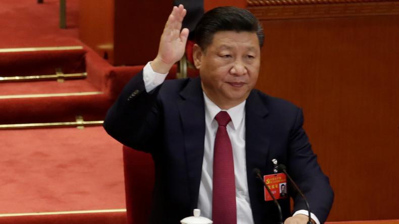Xi Jinping zum neuen Mao erklärt: Sein Gedankengut in Verfassung aufgenommen