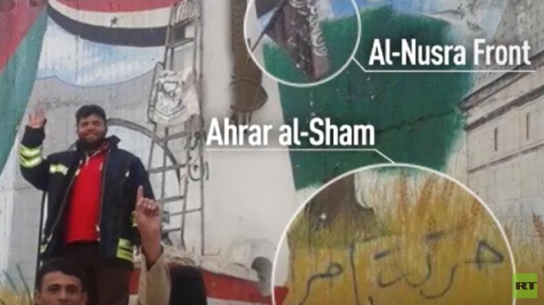 Einmal mehr: Die Weißhelme und ihre Nähe zu Dschihadisten [Video]