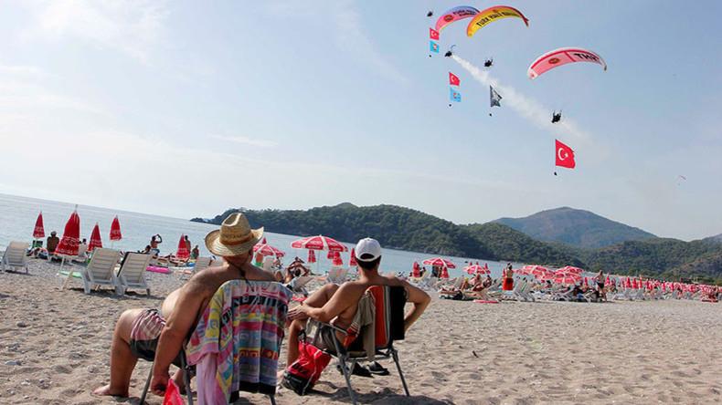 Russischer Touristenandrang in der Türkei: Besucherzahl verzehnfacht sich im ersten Halbjahr 2017