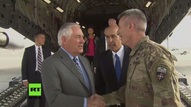 Rex Tillerson: Taliban werden niemals einen militärischen Sieg erringen