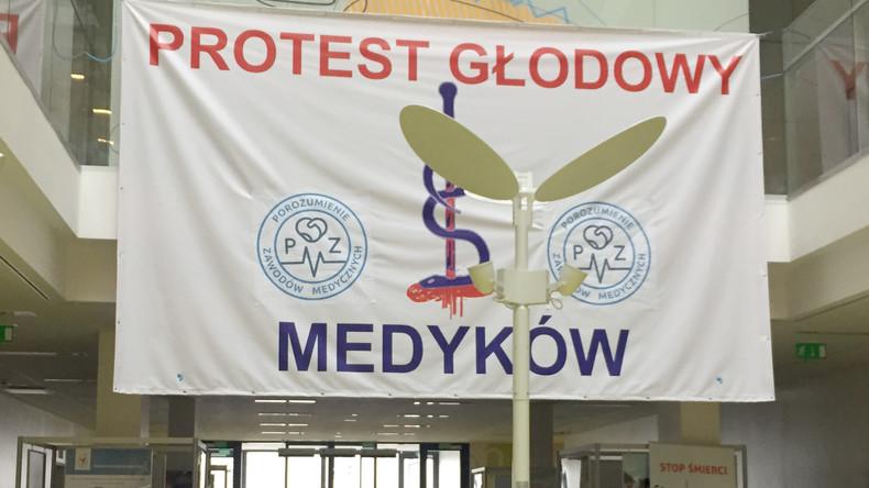 Hungerstreik polnischer Assistenzärzte weitet sich aus