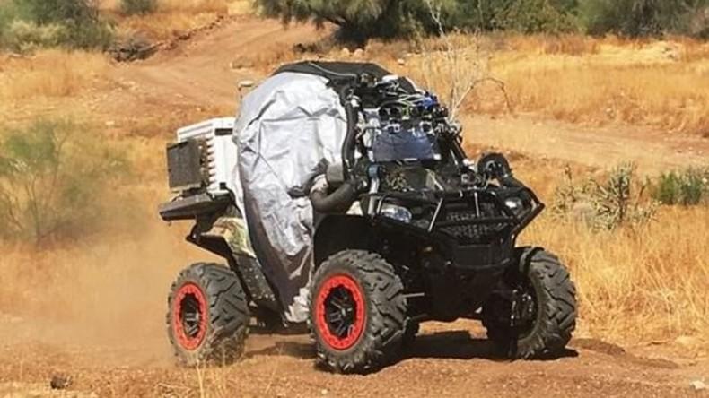 Kampffahrzeug des 21. Jahrhunderts in den USA getestet