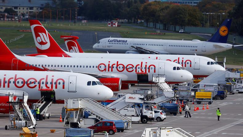 Große Auffanggesellschaft für Air Berlin gescheitert - 4.000 Mitarbeiter betroffen