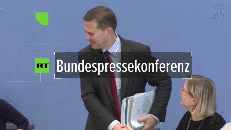"""Regierungspressekonferenz: """"Deutschlands Unterstützung für Syrien ist ein fortlaufender Prozess"""""""