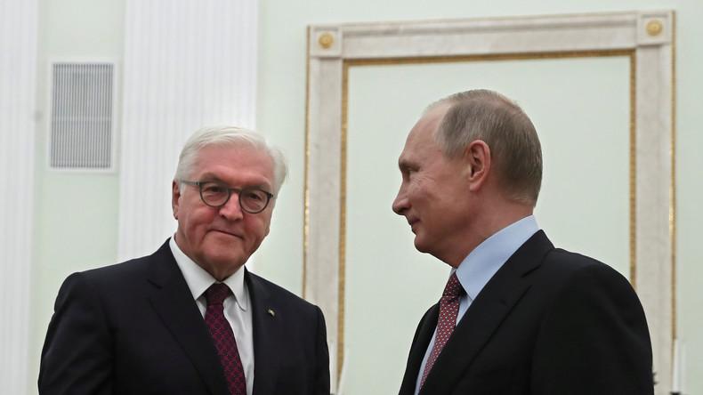 Live: Putin und Steinmeier geben gemeinsame Pressekonferenz in Moskau