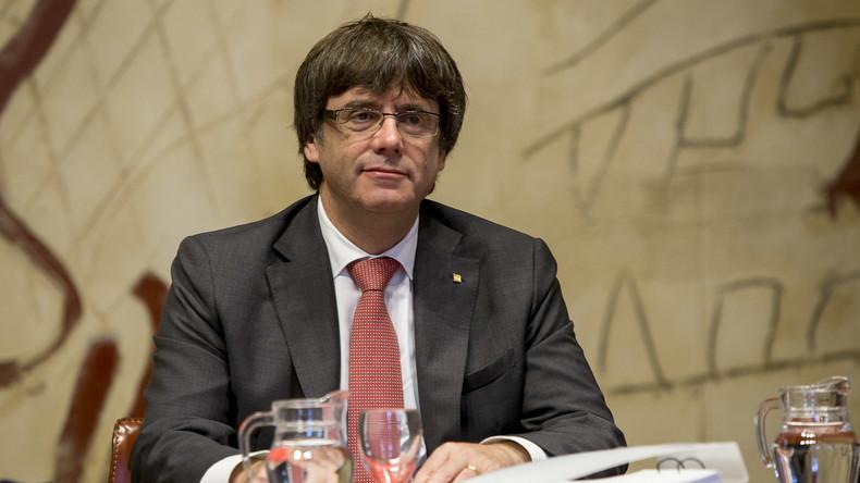 Katalanischer Regierungschef Puigdemont lässt Reise nach Madrid platzen
