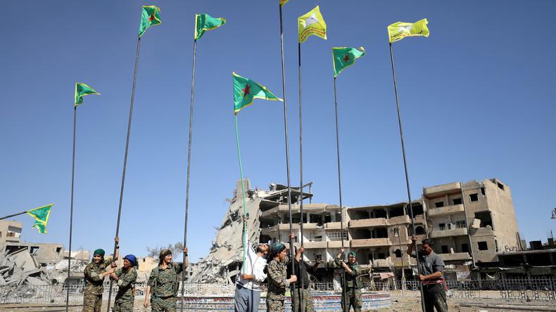 Syrien: IS kontrolliert weniger als fünf Prozent - Humanitäre Katastrophe in Rakka