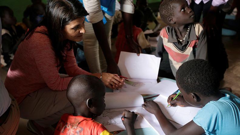 Südsudan: US-amerikanische UN-Botschafterin aus Flüchtlingslager evakuiert