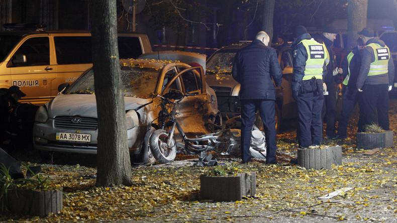 Anschlag auf ukrainischen Abgeordneten in Kiew – ein Mensch tot