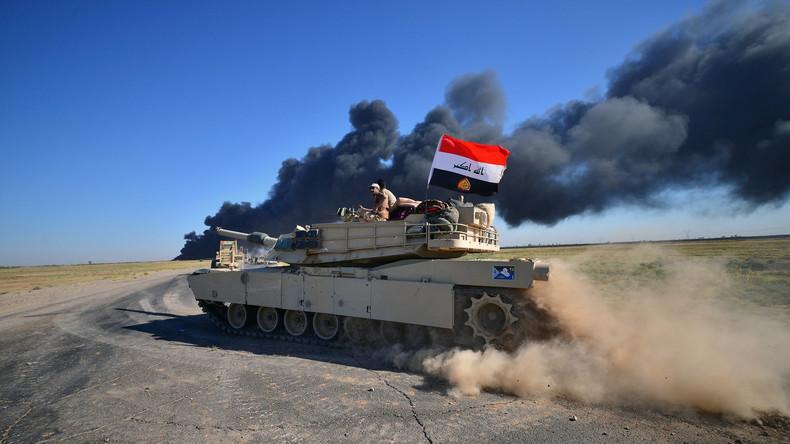Irakische Armee startet Offensive gegen letzte IS-Hochburgen in Al-Qa'im und Rawa
